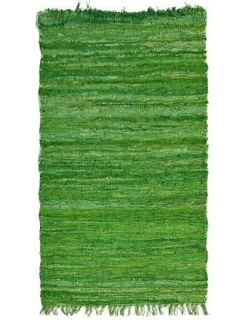 Leather Carpet Green 70x140cm