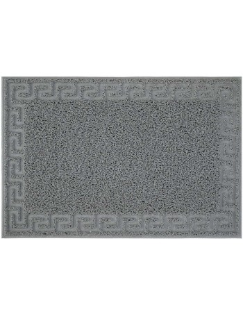 Mat Luxor grey meander