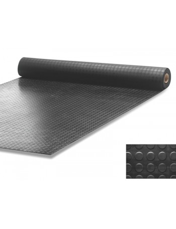 Rubber Pastilles Floor Black