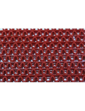 AntiSlip PVC Floor Zig Zag red