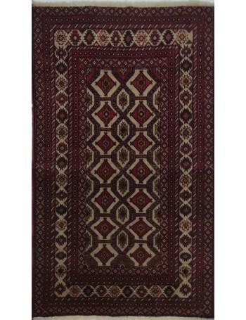 Handmade Baluch rug 137x90cm