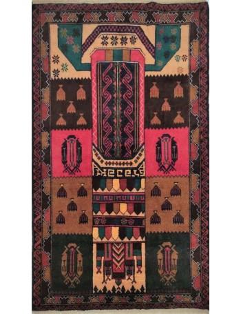 Handmade Baluch rug 145x92cm