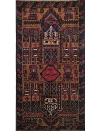 Handmade Baluch rug 154x90cm