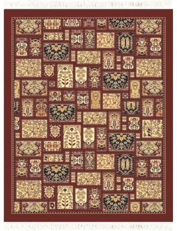 Carpet CORDOBA 8134 CHERRY