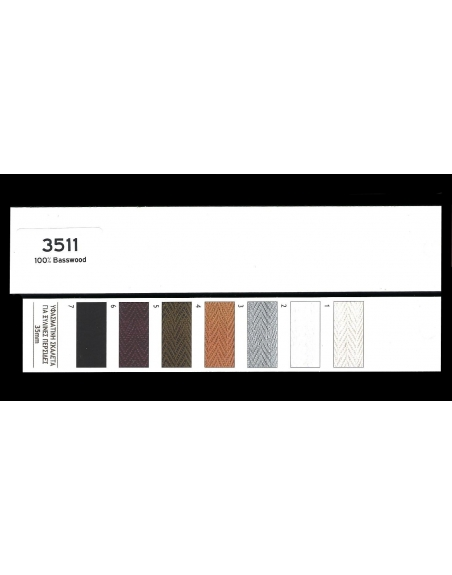 Wooden venetian blinds 35mm